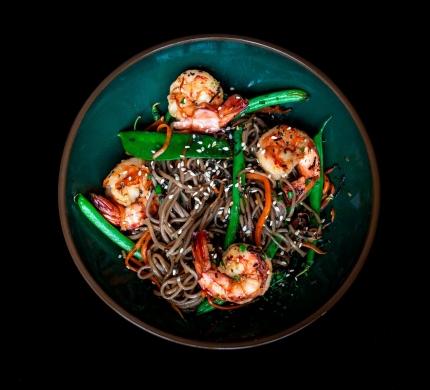Shrimp Soba