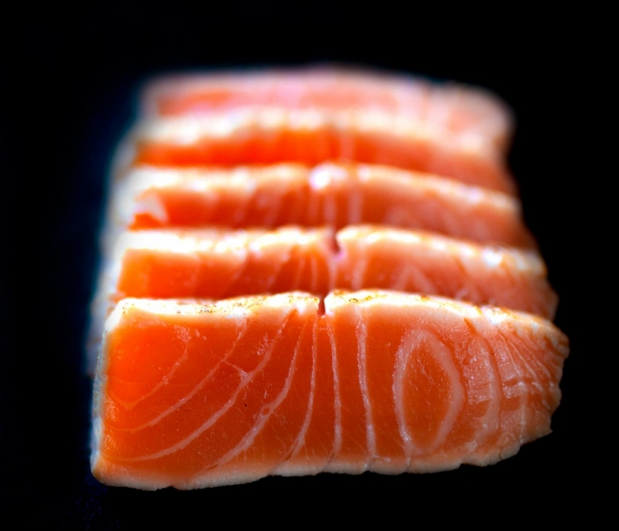 Sashimi Tataki Salmon