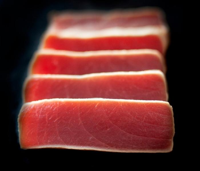 Sashimi Tataki Tuna