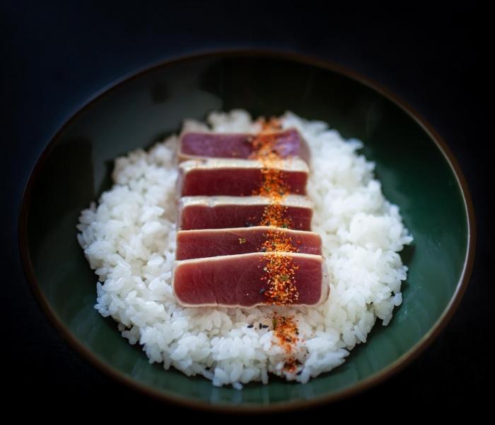 Chirashi Tataki Tuna