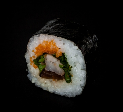 Ebi Shiitake maki (F6)