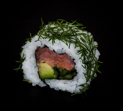 Smoked Salmon Kappa roll (U4)